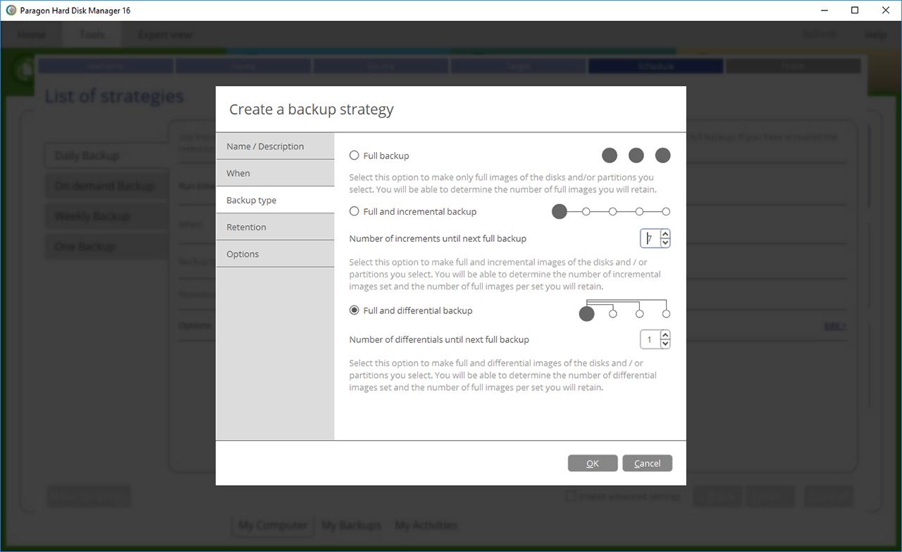 Paragon Backup Software