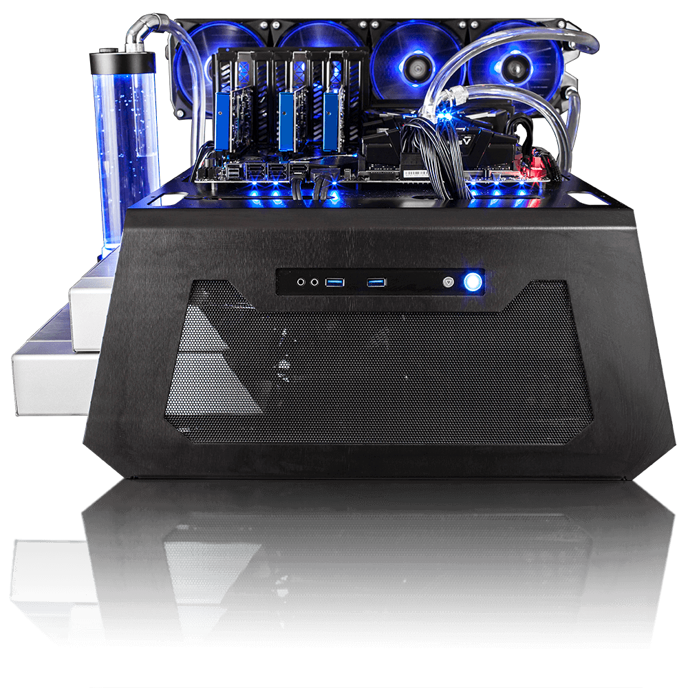 F-1 Blue Max Front View Trading Computer