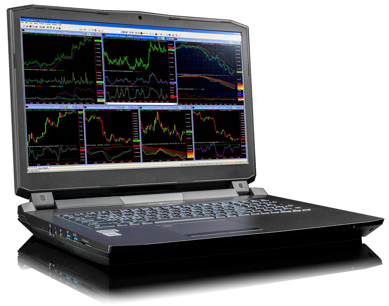 Falcon F-30 Trading Laptop